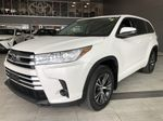 White 2018 Toyota Highlander LE | Toyota Certified Left Side Rear Seat  Photo in Edmonton AB