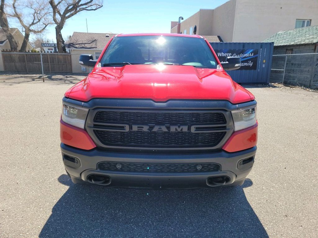 Red 2021 Ram 1500 Left Front Corner Photo in Fort Macleod AB
