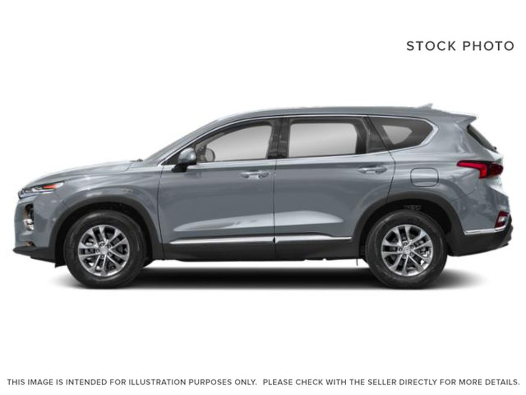 Silver[Shimmering Silver] 2020 Hyundai Santa Fe Left Front Rim and Tire Photo in Pickering ON