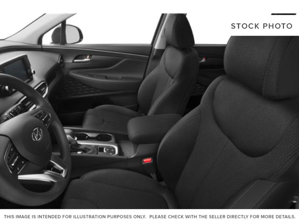 Silver[Shimmering Silver] 2020 Hyundai Santa Fe Front Vehicle Photo in Pickering ON