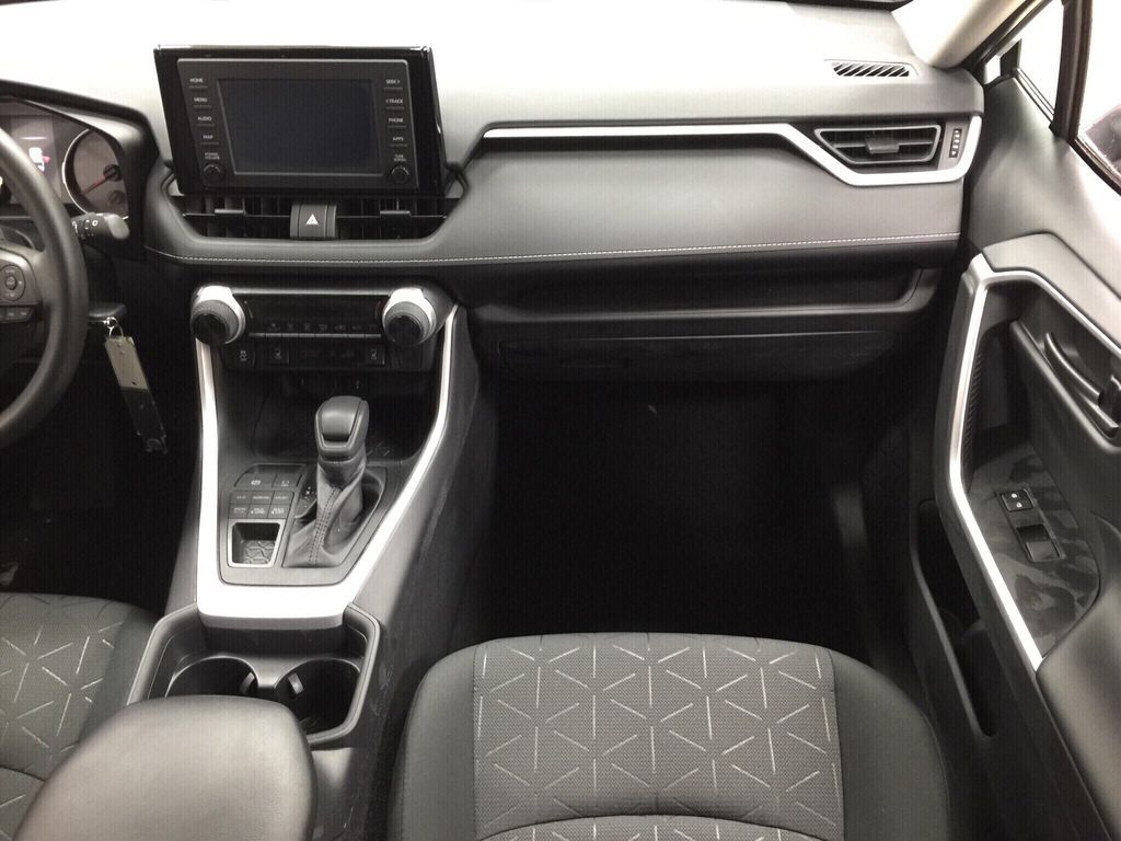White[Super White] 2021 Toyota RAV4 LE AWD Right Front Seat Photo in Sherwood Park AB