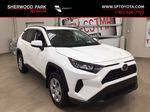 White[Super White] 2021 Toyota RAV4 LE AWD Primary Listing Photo in Sherwood Park AB