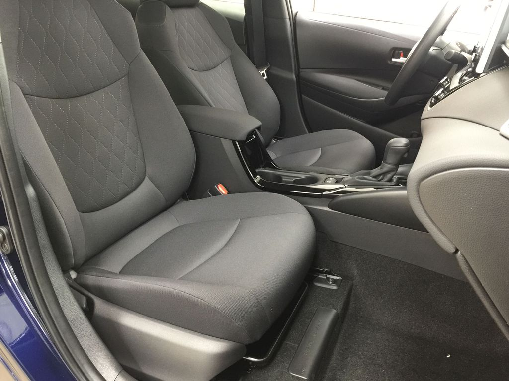 Blue[Blueprint] 2021 Toyota Corolla Hybrid Right Side Front Seat  Photo in Sherwood Park AB