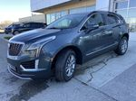 Gray[Shadow Metallic] 2021 Cadillac XT5 Premium Luxury Left Front Head Light / Bumper and Grill in Calgary AB