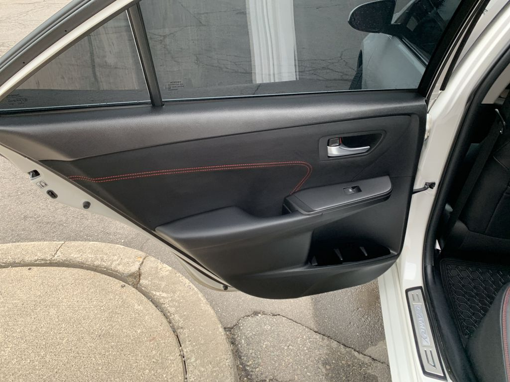White[Blizzard Pearl] 2017 Toyota Camry Left Side Rear Seat  Photo in Brampton ON