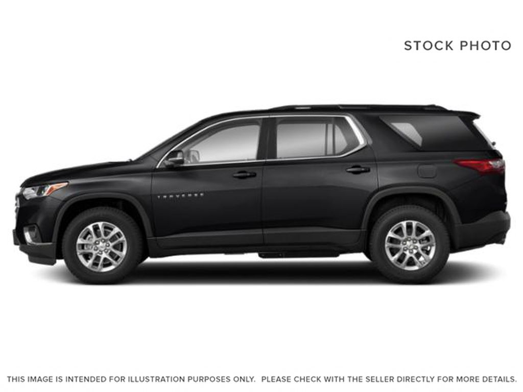 Black[Mosaic Black Metallic] 2020 Chevrolet Traverse Left Side Photo in Fort Macleod AB