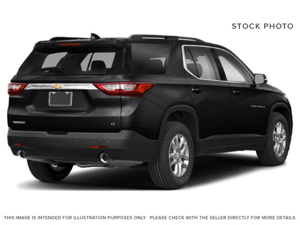 Black[Mosaic Black Metallic] 2020 Chevrolet Traverse Right Rear Corner Photo in Fort Macleod AB