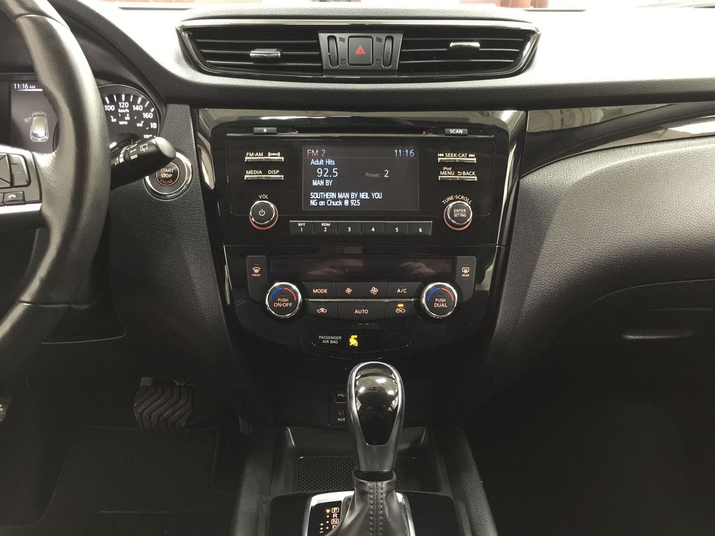 Green[Nitro Lime Metallic] 2018 Nissan Qashqai SV Central Dash Options Photo in Sherwood Park AB