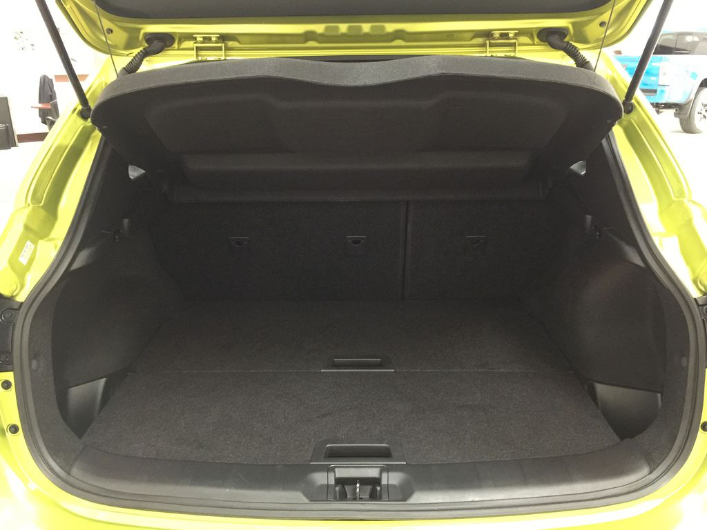 Green[Nitro Lime Metallic] 2018 Nissan Qashqai SV Cargo Area/Rear Seats Photo in Sherwood Park AB