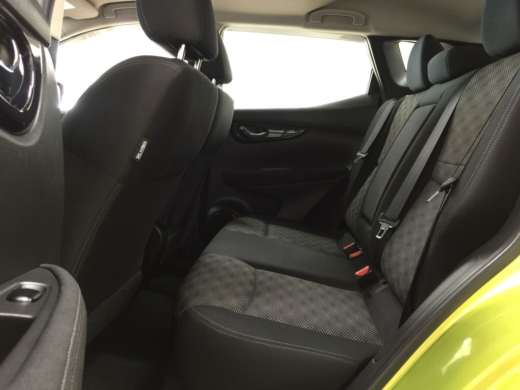 Green[Nitro Lime Metallic] 2018 Nissan Qashqai SV Left Side Rear Seat  Photo in Sherwood Park AB