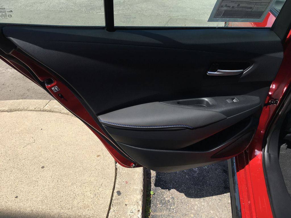 Red[Barcelona Red Metallic] 2021 Toyota Corolla SE Standard Package B4RBSC AM Engine Compartment Photo in Brampton ON