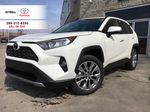 White[Blizzard Pearl] 2021 Toyota RAV4 AWD Limited Package D1RFVT AB Primary Listing Photo in Brampton ON