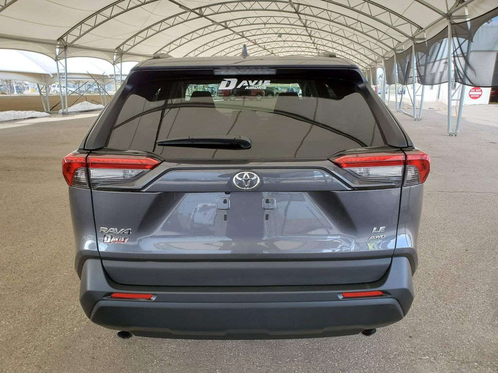 2021 Toyota RAV4 Steering Wheel and Dash Photo in Airdrie AB