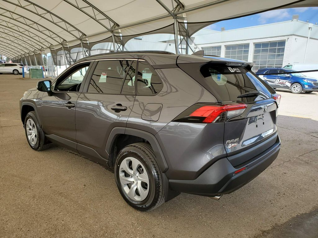 2021 Toyota RAV4 Center Console Photo in Airdrie AB