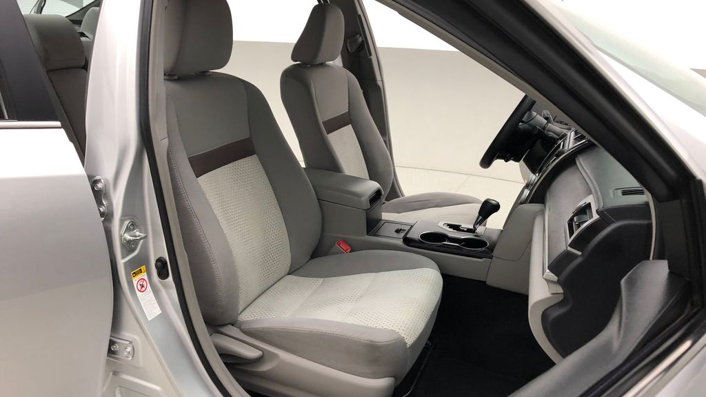 Silver[Classic Silver Metallic] 2012 Toyota Camry LE - Cruise Control, LOW KMs Used Toyota Right Side Front Seat  Photo in Winnipeg MB