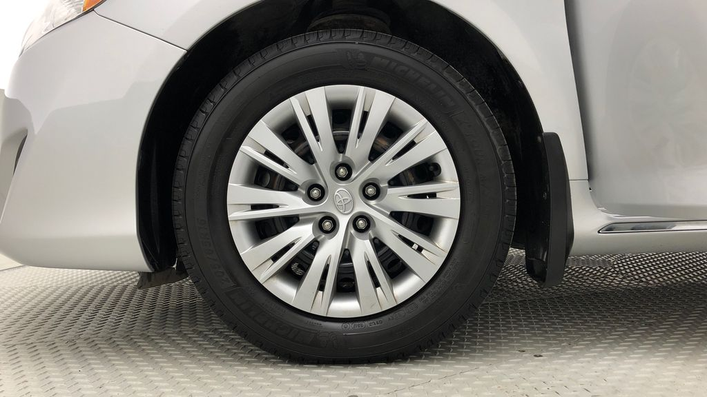 Silver[Classic Silver Metallic] 2012 Toyota Camry LE - Cruise Control, LOW KMs Used Toyota Left Front Rim and Tire Photo in Winnipeg MB