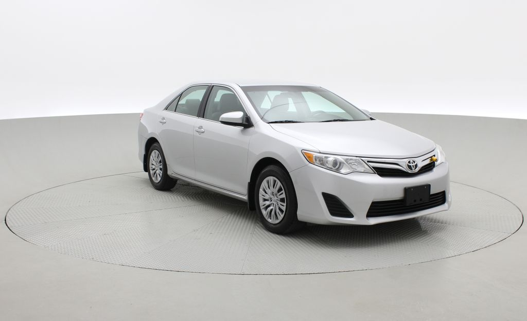 Silver[Classic Silver Metallic] 2012 Toyota Camry LE - Cruise Control, LOW KMs Used Toyota Left Front Corner Photo in Winnipeg MB