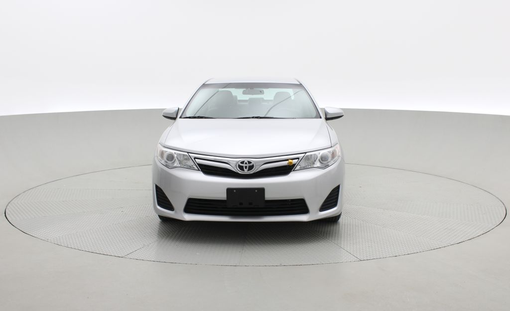 Silver[Classic Silver Metallic] 2012 Toyota Camry LE - Cruise Control, LOW KMs Used Toyota Front Vehicle Photo in Winnipeg MB