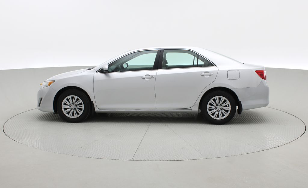 Silver[Classic Silver Metallic] 2012 Toyota Camry LE - Cruise Control, LOW KMs Used Toyota Left Side Photo in Winnipeg MB