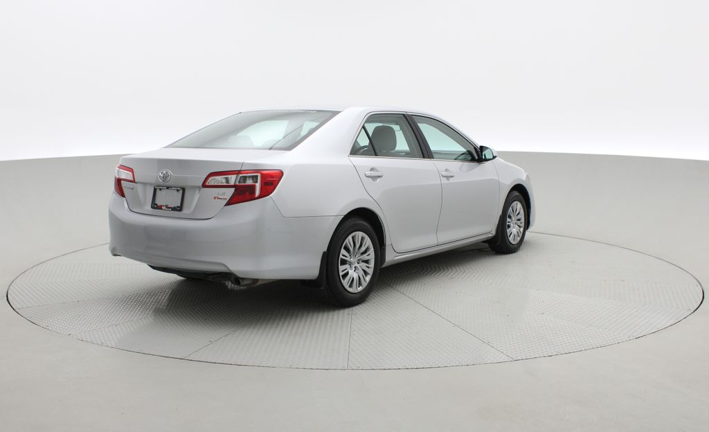 Silver[Classic Silver Metallic] 2012 Toyota Camry LE - Cruise Control, LOW KMs Used Toyota Right  Rear Corner Photo in Winnipeg MB