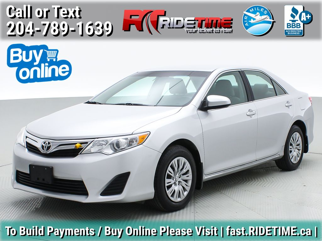 Silver[Classic Silver Metallic] 2012 Toyota Camry LE - Cruise Control, LOW KMs Used Toyota