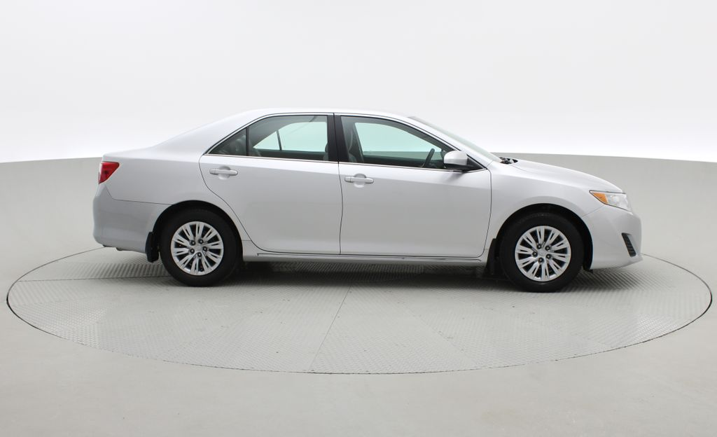 Silver[Classic Silver Metallic] 2012 Toyota Camry LE - Cruise Control, LOW KMs Used Toyota Right Side Photo in Winnipeg MB