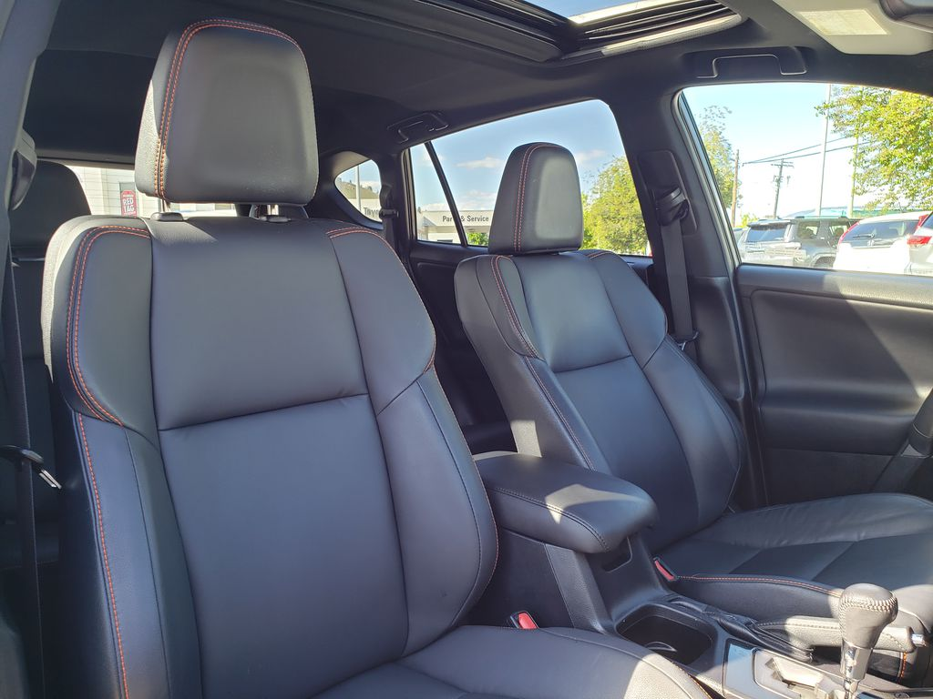 Charcoal 2016 Toyota RAV4 Right Side Front Seat  Photo in Kelowna BC