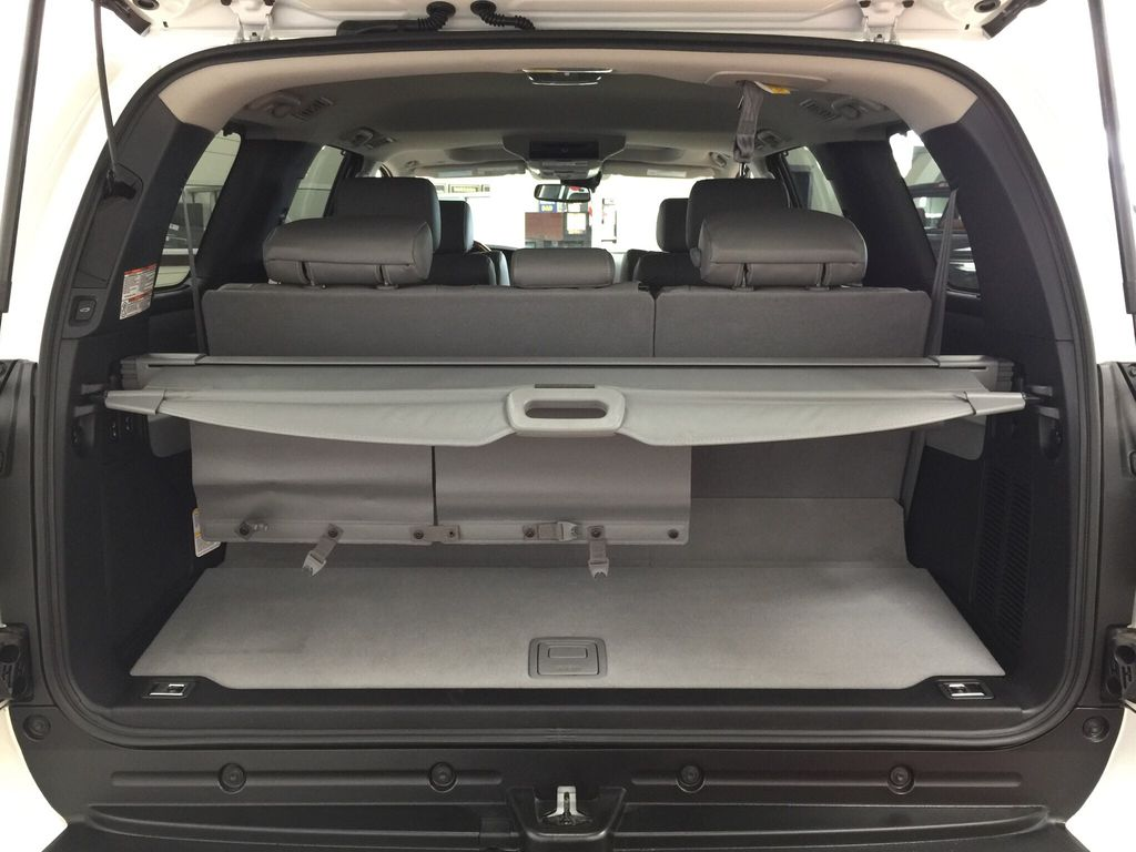 White[Blizzard Pearl] 2021 Toyota Sequoia Platinum Cargo Area/Rear Seats Photo in Sherwood Park AB
