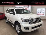 White[Blizzard Pearl] 2021 Toyota Sequoia Platinum Primary Photo in Sherwood Park AB