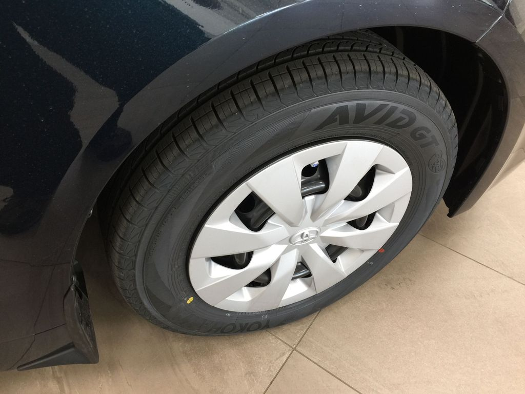 Blue[Galactic Aqua Mica] 2021 Toyota Corolla Hatchback Right Front Rim and Tire Photo in Sherwood Park AB