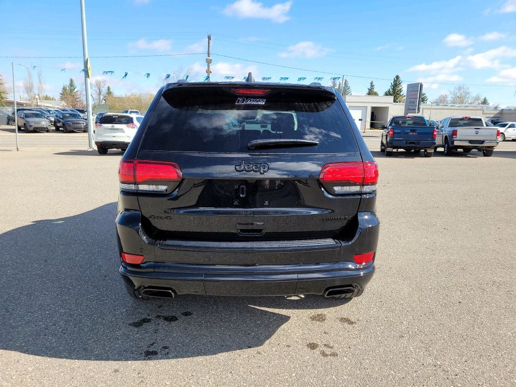 Black 2021 Jeep Grand Cherokee  Driver's Side Door Controls Photo in Fort Macleod AB