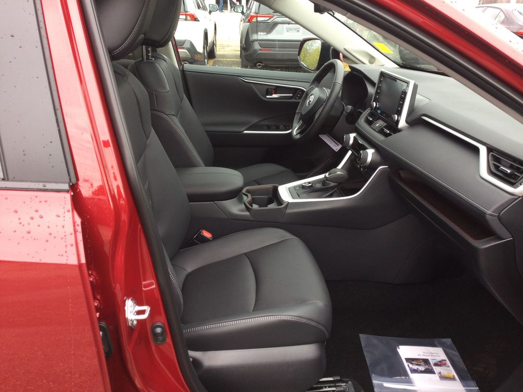 Red[Ruby Flare Pearl] 2021 Toyota RAV4 Right Side Front Seat  Photo in Brockville ON