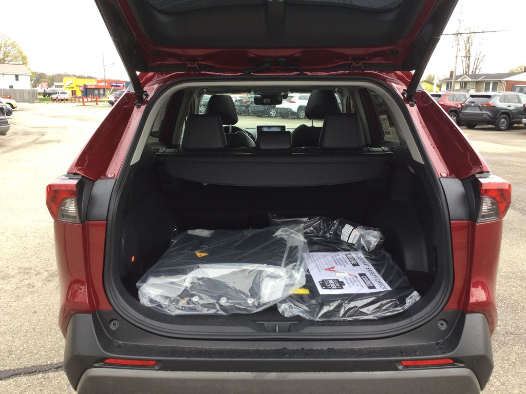 Red[Ruby Flare Pearl] 2021 Toyota RAV4 Trunk / Cargo Area Photo in Brockville ON