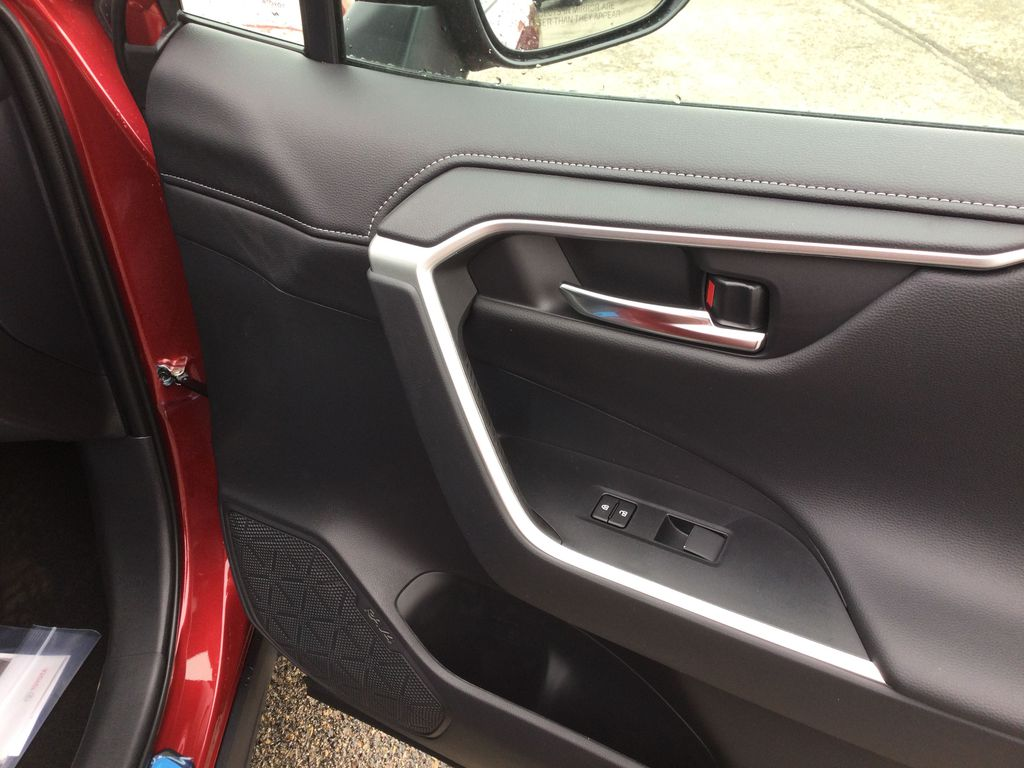 Red[Ruby Flare Pearl] 2021 Toyota RAV4 Passenger Front Door Controls Photo in Brockville ON