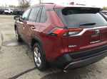 Red[Ruby Flare Pearl] 2021 Toyota RAV4 Left Rear Corner Photo in Brockville ON