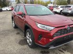 Red[Ruby Flare Pearl] 2021 Toyota RAV4 Right Front Corner Photo in Brockville ON