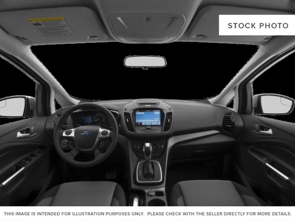 Red[Ruby Red Metallic Tinted Clearcoat] 2017 Ford C-Max Hybrid Central Dash Options Photo in Dartmouth NS