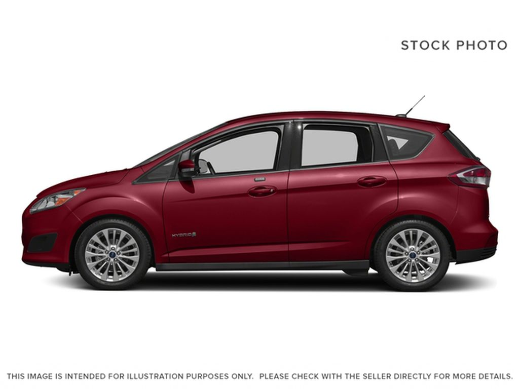 Red[Ruby Red Metallic Tinted Clearcoat] 2017 Ford C-Max Hybrid Left Side Photo in Dartmouth NS