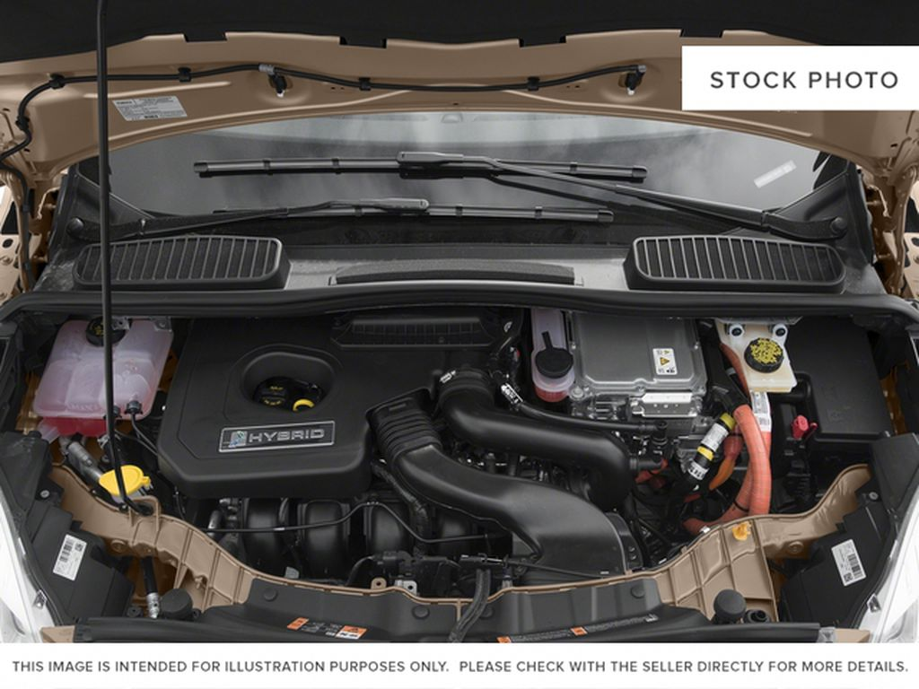 Red[Ruby Red Metallic Tinted Clearcoat] 2017 Ford C-Max Hybrid Engine Compartment Photo in Dartmouth NS
