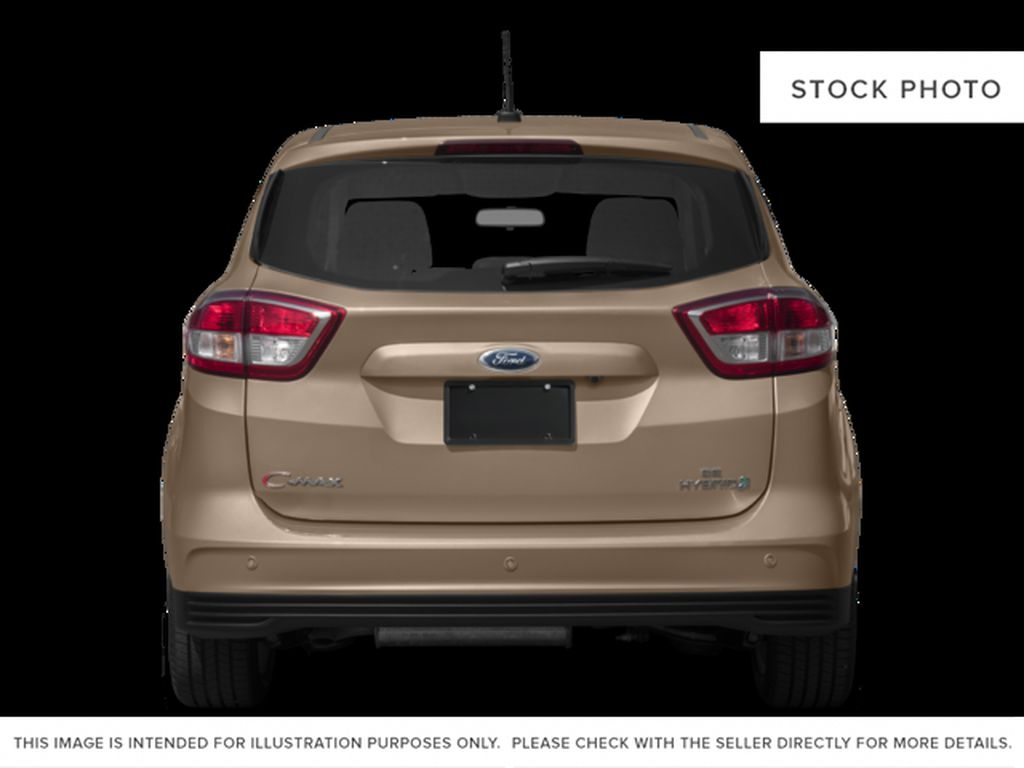 Red[Ruby Red Metallic Tinted Clearcoat] 2017 Ford C-Max Hybrid Rear of Vehicle Photo in Dartmouth NS