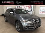 Silver[Cuvee Silver Metallic] 2015 Audi SQ5 / RARE / LOW KMS Primary Photo in Sherwood Park AB
