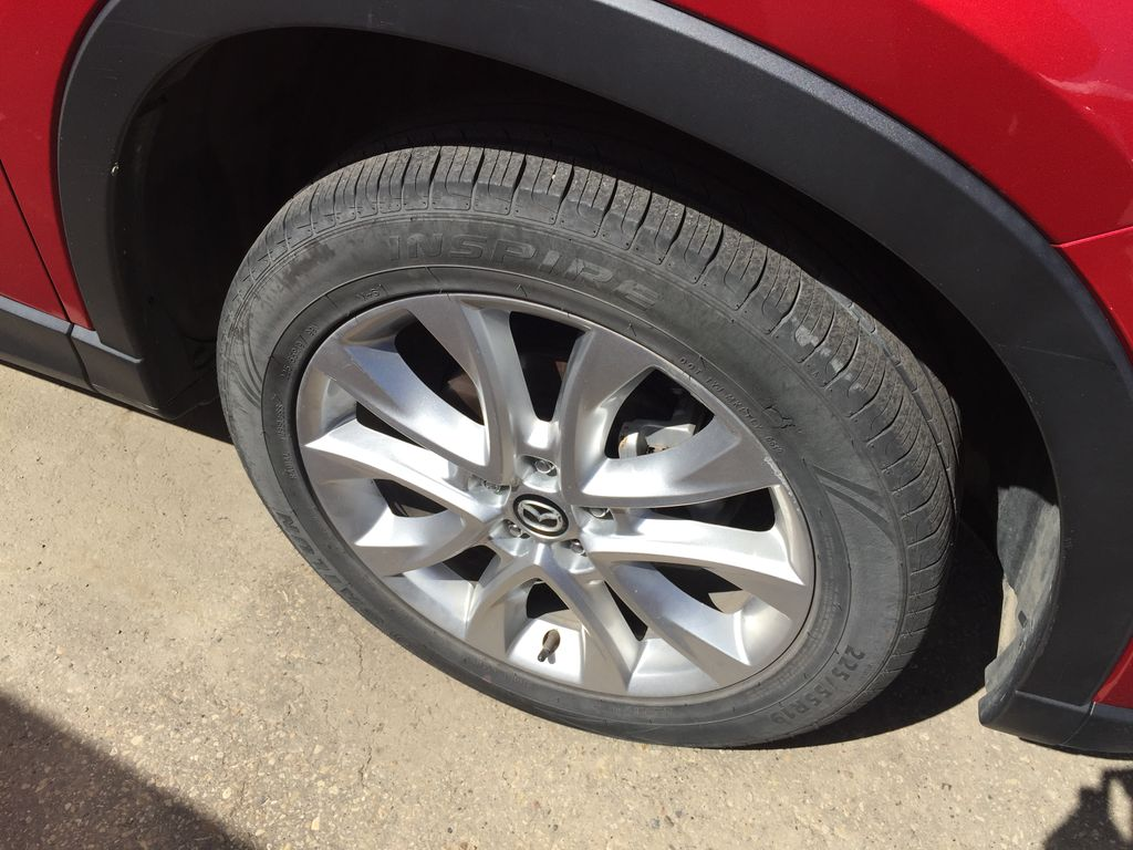 RED 2015 Mazda CX-5 GT / LEATHER LOADED Right Rear Corner Photo in Sherwood Park AB