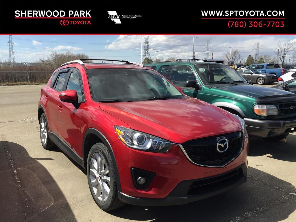 RED 2015 Mazda CX-5 GT / LEATHER LOADED