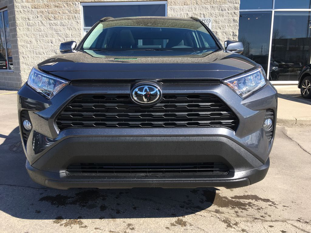 Gray[Magnetic Grey Metallic] 2021 Toyota RAV4 AWD XLE Standard Package R1RFVT AM Sunroof Photo in Brampton ON