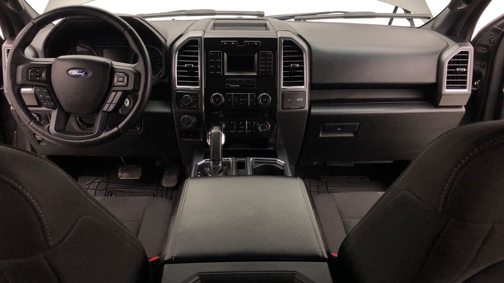 Silver[Ingot Silver Metallic] 2016 Ford F-150 XLT Sport Package 4WD - 20in Wheels, SuperCrew Central Dash Options Photo in Winnipeg MB
