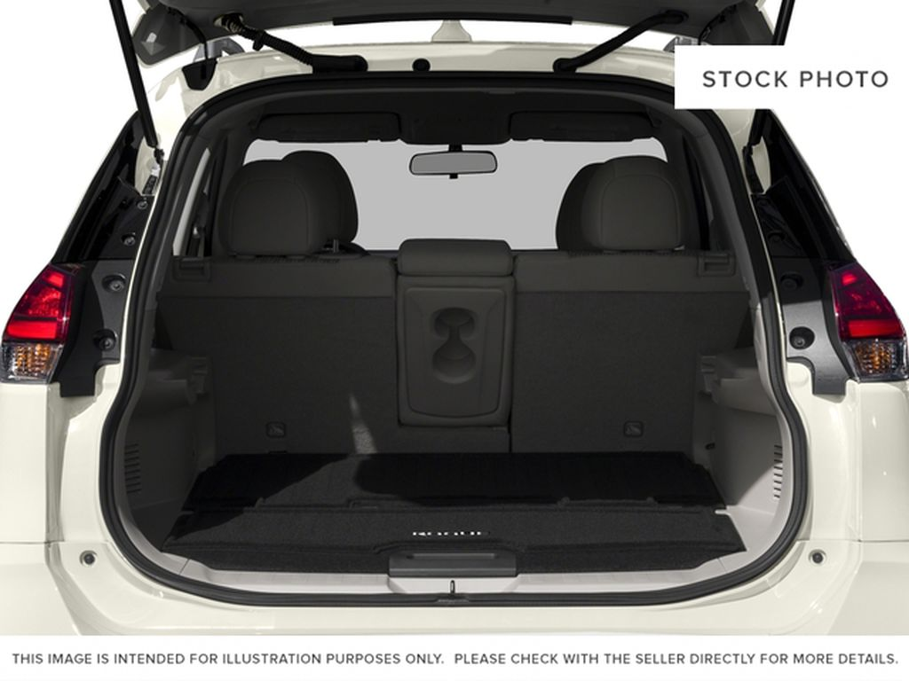 Red[Palatial Ruby Metallic] 2017 Nissan Rogue SV Trunk / Cargo Area Photo in Calgary AB