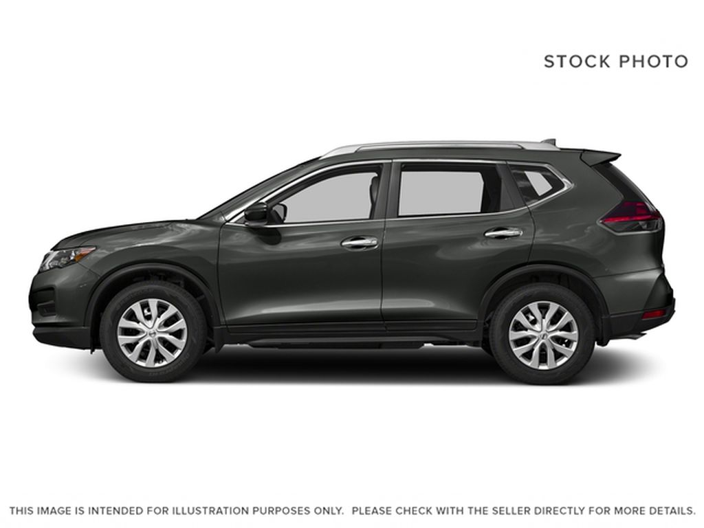 Red[Palatial Ruby Metallic] 2017 Nissan Rogue SV Left Side Photo in Calgary AB