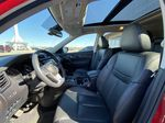 Red[Palatial Ruby Metallic] 2017 Nissan Rogue SL AWD Left Front Interior Photo in Calgary AB