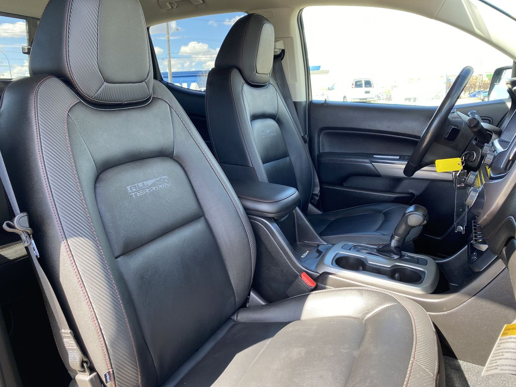 Black[Onyx Black] 2019 GMC Canyon Right Side Front Seat  Photo in Edmonton AB
