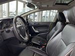 Green[Lime Squeeze Metallic] 2011 Ford Fiesta Left Front Interior Photo in Edmonton AB